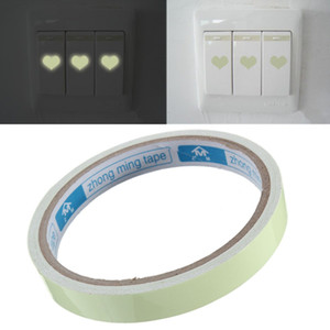 Green Self-adhesive Luminous Tape Glow In The Dark Safety Film Stage Home Decorations Vision Security Tape Car Tape