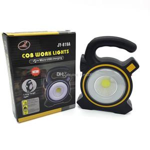 Güneş ışıkları Enerjili USB Taşınabilir 30W LED el feneri Fenerler COB Nokta Şarj edilebilir LED Taşkın Işık Açık İş Nokta Lambası ile ışıklandırması
