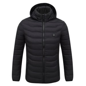 Electric Heated Jacket Clothes Men Women USB Lower Voltage Adjustable Temperature Waistcoat Thermal Warm Winter Jacket