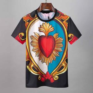 2020 Stampa uomini maglietta moda casual Medusa maglietta manica corta estate piani in cristallo Skulls T-shirt Designer Brand Mens Tshirt