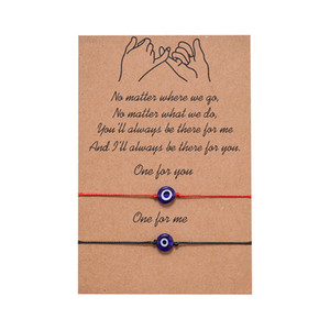 Jóias Vintage ajustável corda Alloy amante Infinito Charm Bracelet Handmade pulseira cabo de cera Amizade pulseira casal Presentes de Natal