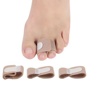 Tissu Toe Lisseur Doigt Marteau Pied Hallux Valgus Correcteur Bandage Toe Séparateur Attelle Enveloppes Soins Des Pieds