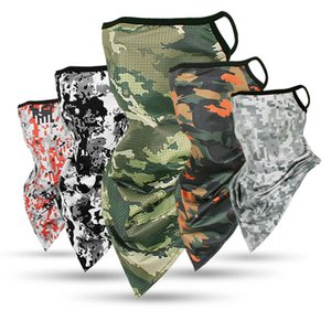 Magic Party Mask Tactical Army Camo Trangle Scarf Sports Face Mask Fishing Cycling Running Neck Gaiter Mask