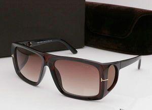 New topo grande qualtiy Novos Moda 0730 Tom óculos de sol para o homem Mulher Erika Eyewear ford Designer Marca óculos de sol com caixa # 693