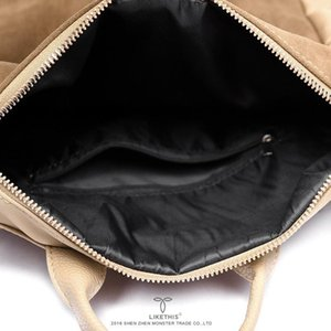 Designer-likethis Leather Backpack Mulheres PU Bolsa de Ombro Mulher Para 2019 Grande Capacidade Sólidos Oxford Pano Zipper Mochilas Feminina Zaino