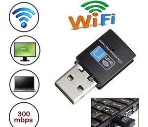 Mini 300M USB WiFi adapter Wireless wifi dongle Network Card 802.11 n g b wi-fi LAN Adapter RTL8192 rtl8192cu eu