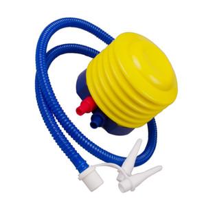 수영 반지 수영 보트 에어 펌프 생명 조끼 부표를위한 야외 휴대용 발 풍선 공기 펌프 팽창 펌프 수영장 팽창기 도구