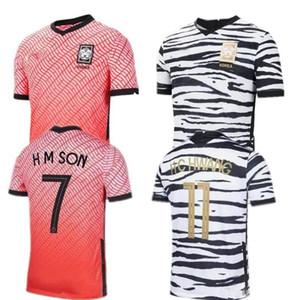 rojo casero 2020 Corea del Sur SON camisas del fútbol de 20 21 Corea del Sur distancia negro HYUNG KIM LEE KIM Ho Son JERSEY Fútbol camisa de los hombres personalizados