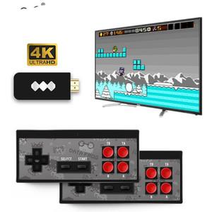 Y2 레트로 게임 콘솔 지원 2 플레이어 HDMI HD 568 클래식 비디오 게임 USB 휴대용 적외선 레트로 게임 패드 컨트롤러를 저장할 수 있습니다