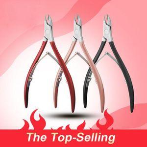 4Pcs / lot Nagelknipser Dead Skin Remover Edelstahl-Nagel-Häutchen Scissor Finger Zehennagel Nipper Clipper Trimmer