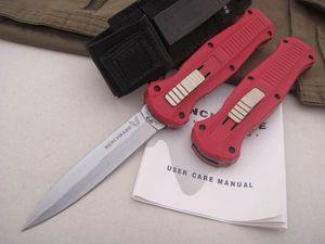 Qualité supérieure! Benchmade Infidel 3310BK 3300 C07 HK Couteau tactique Double action Automatique Plain EDC BM42 couteaux de poche couteaux survie.