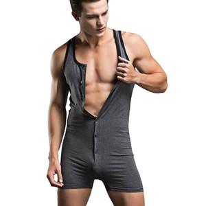 Abnehmen faja hombre Body Shaper Baumwolle Herren-Unterwäsche camisa masculina Körperanzüge sexy gemeinsame Kleidung Nachtwäsche Shapewear