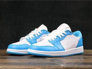 Vente en gros SB Dunk x 1 chaussures décolletées UNC Eric Koston Designer Outdoor Comfortablel Homme Femme Chaussure de Bleu Blanc Sport Formateurs Sneaker