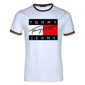 Novità 2019 Mens Summer Tees T-Shirt manica corta t-shirt stampata in cotone T-Shirt in cotone 3D Abbigliamento S-XXXL Tshirt da golf