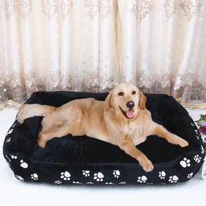 Pet Dog Beds for Large Dogs Small Dogs Warm Soft Dog Mattress Couch Washable Pet Sleeping Sofas Cage Mat Big Size XXL 201225
