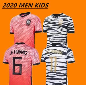 2020 South Korea home red SON FOOTBALL SHIRTS 20 21 South Korea away black HYUNG KIM LEE KIM HO SON JERSEY soccer Jerseys custom men kids