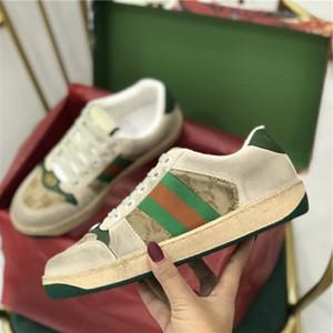 Marka Erkekler inek derisi kaykay ayakkabı Kadın moda ayakkabılar Lover Boy, 35-45 Spor Casual Tuval Kirli Baba ayakkabı yazdır Artan