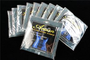10 set di Aman AE190 / 200 chitarra elettrica 1 ° al 6 Strings 009-042 (010-046) Extra Light all'ingrosso speciali Strings