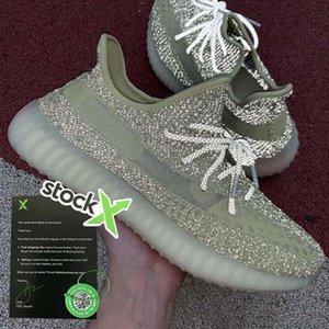 Livraison gratuite 2020 vente Chaussures de course hommes femmes chaussures de sport de sport Chaussures de plein air Mesh semelle Adidas Yeezy Boost 350 V2  36-46