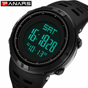 PANARS Waterproof Mens Watches New Fashion Casual LED Digital Outdoor Sports Watch Men Multifunction Student Wrist watches
