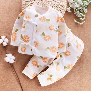 Monk's clothes thin Underwear clothing clothing baby cotton men's and women's underwear newborn suit March newborn clothes -0 baby