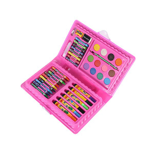 42Pcs Set Kids Art Drawing Painting Tool Marker Pens Wax Crayon Oil Pastel Gift