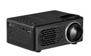 RD-814 светодиодный мини-проектор 320 х 240 домашний кинотеатр Proyector Поддержка 1080P Портативный VS YG300 Идеально подходит для 1шт Movie