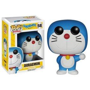 Funko pop Anime: Doraemon Cat Doll Vinyl Action Figure Model Toy IN Box for kids halloween gift