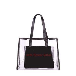 Rosa Sugao 2020 neue Art Handtasche Frauen Schulterhandtasche PVC-Material 2pcs / set Tragetaschen Designer-Handtasche BHP