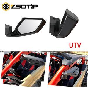ZSDTRP 2adet Motosiklet Dikiz Aynalar Yarışı UTV Yan Aynalar Merkezi mesafesi 45 mm
