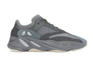 Carbon Blue Wave Runner Teal Blue Vanta Inertia Kanye West Running Shoes Men Women Sport Shoes With Box