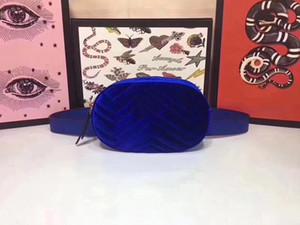 Tasarımcı-fannypack tasarımcı çantaları Kaliteli Kadife bel çanta çanta yüksek kaliteli yeni stil çanta kemer çanta Kadife Gucy cüzdanlar bumbag