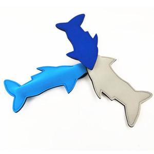 Titolare caldo Shark neoprene Popsicle riutilizzabile antigelo crema borsa del ghiaccio borsa termica Blanks di compleanno dei capretti Summer Party Favors T2I51069