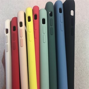 best quality 100% Original Official Liquid Silicone case For iPhone 6 7 8 plus X XS MAX XR with Soft Microfiber Cloth Lining Cover Case