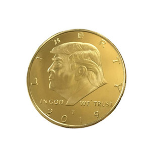 2020 Donald Trump Gold Coin, Gold Plated Collectable Coin and Case Included, 45th President, Certificate of Authenticity Official