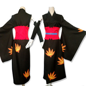 Anime GINTAMA Silver Soul figure Tsukuyo Kimono Uniform Halloween Cosplay costumes for women NEW 2018 freeship