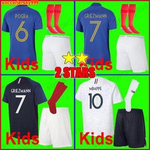 2018 mundo shirt do campeonato de futebol camisa de futebol filhos kit meninos uniformes boa qualidade com meias 100 anos 001