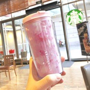 Authentique Starbucks Sakura saison balancement cerise fleurs Tumbler 8 oz rose out dooor Sport D'accompagnement tasse pour café d'eau