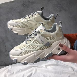 2020 New Stylish Woman Increasing height Sneakers Women Walking Girls Sneakers Chunky Dad Shoes Women Tennis Shoes Zapatos Mujer