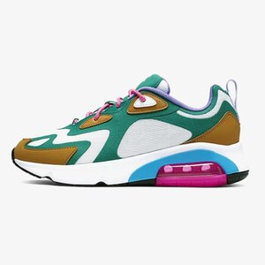 2020 New Mens Running Shoes 200 Bordeaux University Red Mystic Green Triple s Black Royal Pulse Womens Mens Trainers Sports Sneakers 36-46
