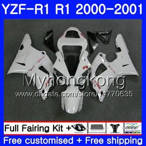 Corpo Bianco Perla YAMAHA YZF 1000 YZF R 1 YZF-1000 YZFR1 00 01 Telaio 236HM.9 YZF-R1 00 01 Carrozzeria YZF1000 YZF R1 2000 2001 Carenatura