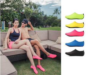 Beach Water Sports Scuba Diving Socks 5 Colors Swimming Snorkeling Non-slip Seaside Beach Shoes Breathable Surfing Socks Sand Play dc347