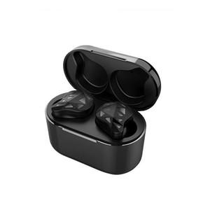 Mini Twins sans fil Bluetooth 5.0 Casque stéréo Sport étanche à l'oreille tête Téléphones TWS Earbuds écouteurs avec pack de charge pour Smartphone