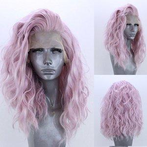 ANGE capelli umani da 16 pollici sintetica del merletto di Remy dei capelli anteriore parrucche di simulazione perruques de cheveux Humains LS-495