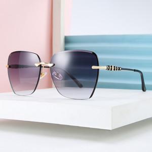 Дениса площади вырезывания объектива солнцезащитные очки женщина 2020 новые полигональные оправы солнцезащитных очков анти-УФ солнцезащитные очки оттенки для женщин 50204