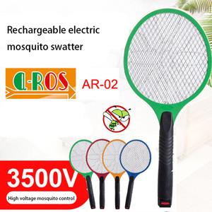 Mosquito Nets Swatter inseto elétrica Fly Zapper assassino Racket recarregável Diversos Eletrodomésticos Controle de Pragas elétrica mata-mosquito