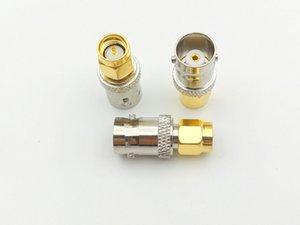 Freeshipping 100pcs cuivre femelle BNC à fiche mâle coaxial SMA antenne RF