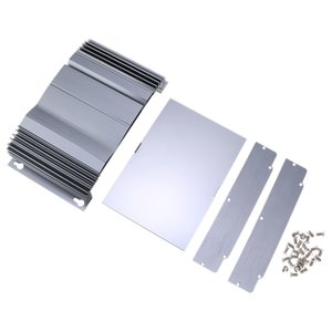 Electrónica Caja de aluminio del Proyecto, Circuit Board PCB recinto, Amplificador de Potencia de la caja DIY reemplazos, 250x140x53mm
