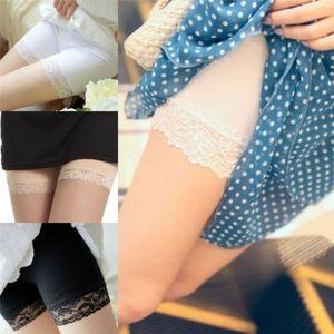 Frühling, Sommer, Anti Entleerte Breathable Sicherheit Shorts Spitze Pants Hot Women bequemes
