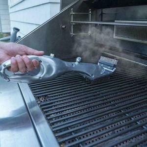 Churrasco Grill papai Vapor Limpeza Barbeque grill pincel para carvão limpo com vapor ou gás Acessórios para churrasco Cozinhar Ferramentas